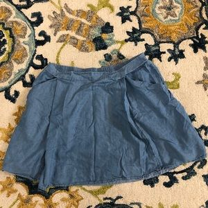 Jean Skirt with Pockets